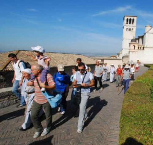 Joint Prayer Service in Assisi