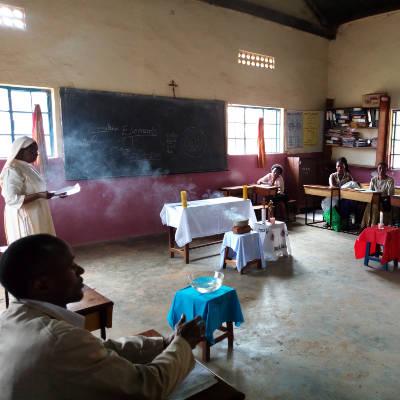 Praying with Creation in Nsambya