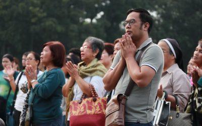 Caminhada nas Filipinas pelo Tempo da Criação