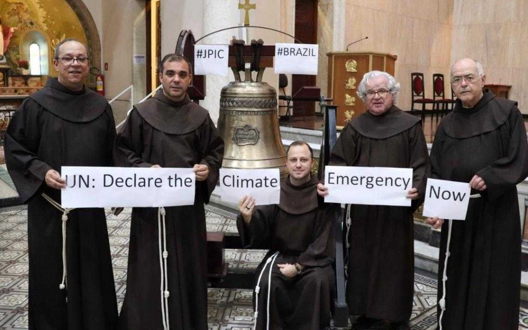 Church Bells Ring in Support of climate strikes