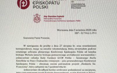 Polish Bishop's Conference Letter 2020