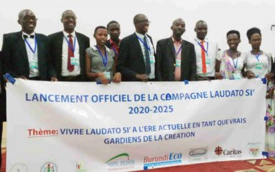 """Campagna quinquennale """"Laudato Si'"""" lanciata dalle organizzazioni del Burundi per celebrare il Tempo del Creato"""