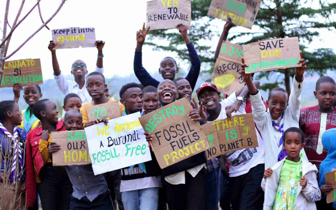 Children in Burundi, Tanzania step up for climate justice during Season of Creation
