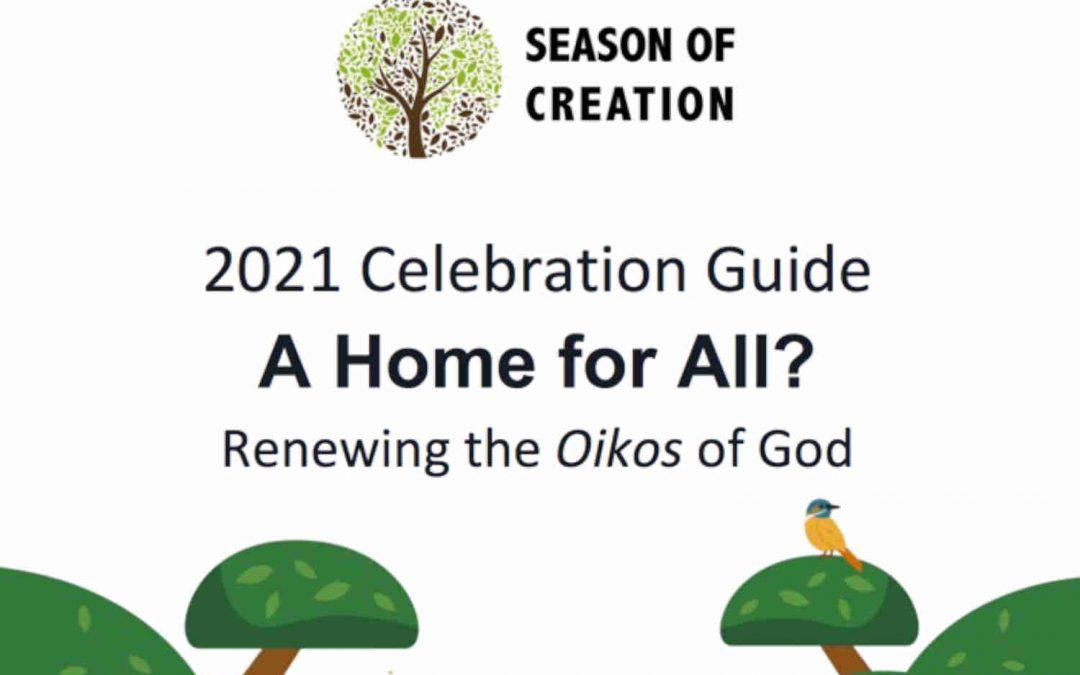 La Guía de Celebración del Tiempo de la Creación ya está disponible mientras los cristianos se preparan para unirse en torno al nuevo tema