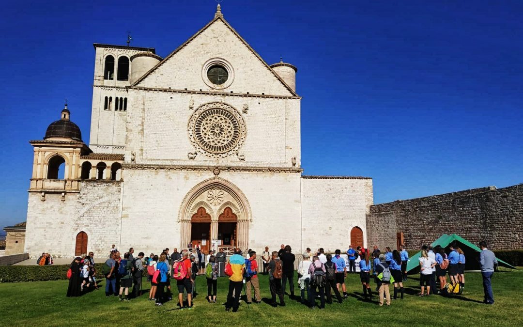 (Literally) following the path of St. Francis during the Season of Creation
