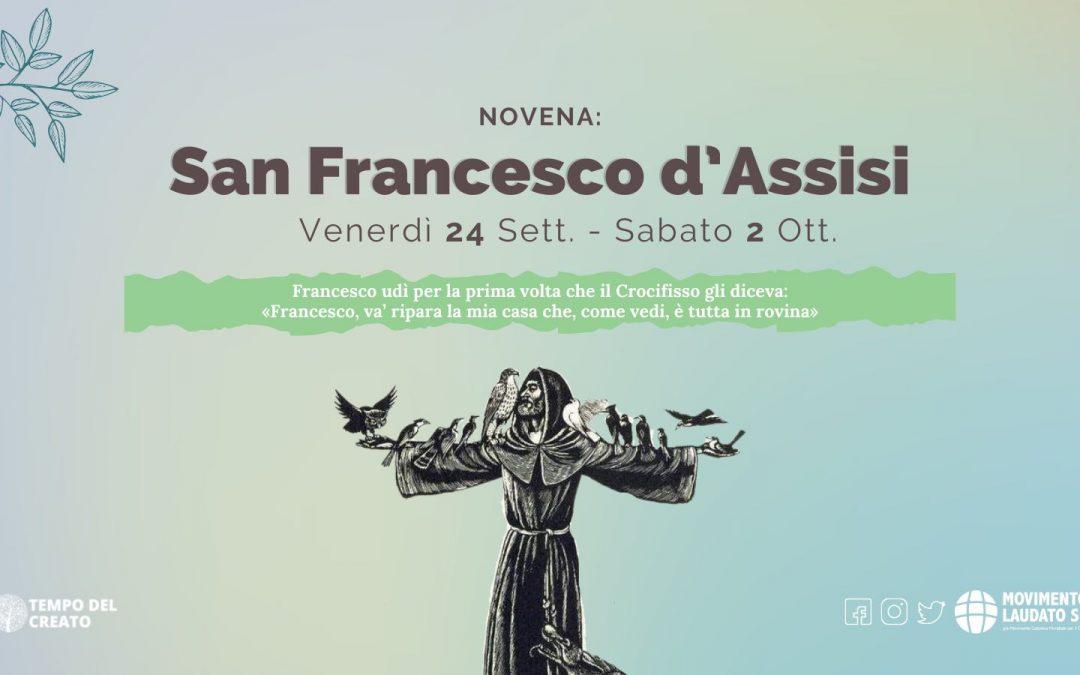 Pregare la novena per San Francesco d'Assisi